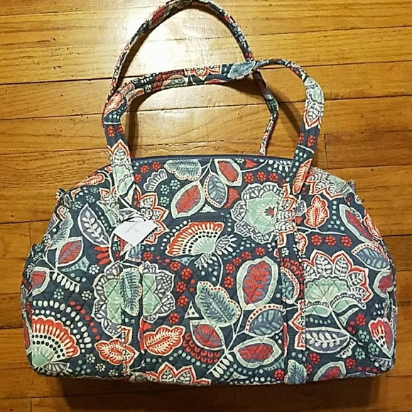 e3f320abe0 Vera Bradley Nomadic Floral Small Duffel